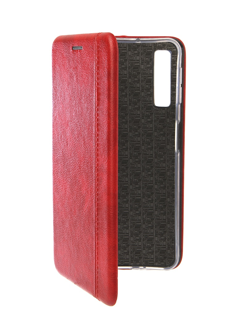 Чехол Innovation для Samsung Galaxy A7 2018 Book Silicone Magnetic Red 13334
