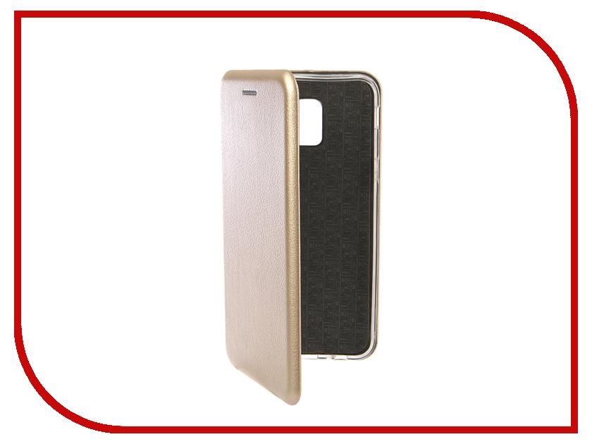 Аксессуар Чехол для Samsung Galaxy J6 2018 Innovation Book Silicone Magnetic Gold 13335 аксессуар чехол для samsung galaxy j2 2018 innovation book gold 11961
