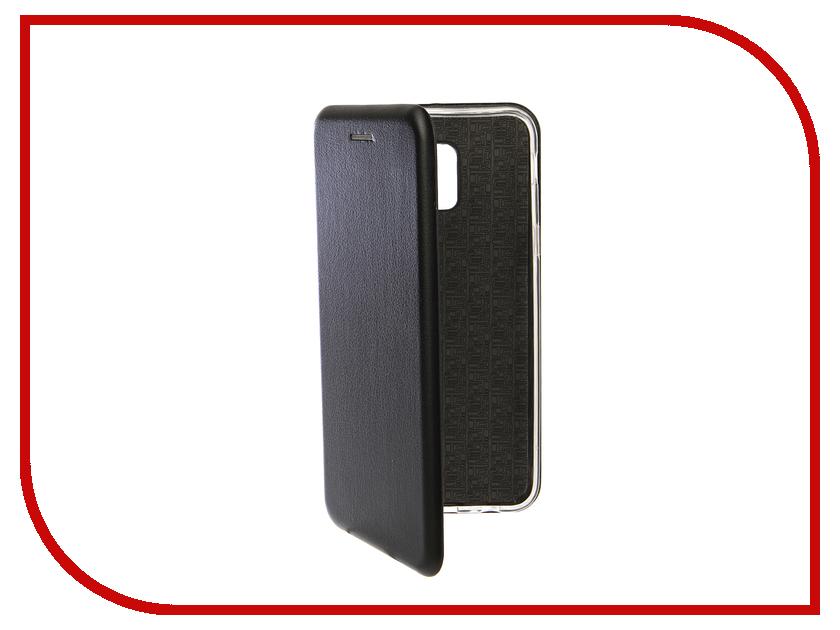 Аксессуар Чехол для Samsung Galaxy J6 2018 Innovation Book Silicone Magnetic Black 13338 аксессуар чехол для samsung galaxy a5 2017 innovation silicone black 12205