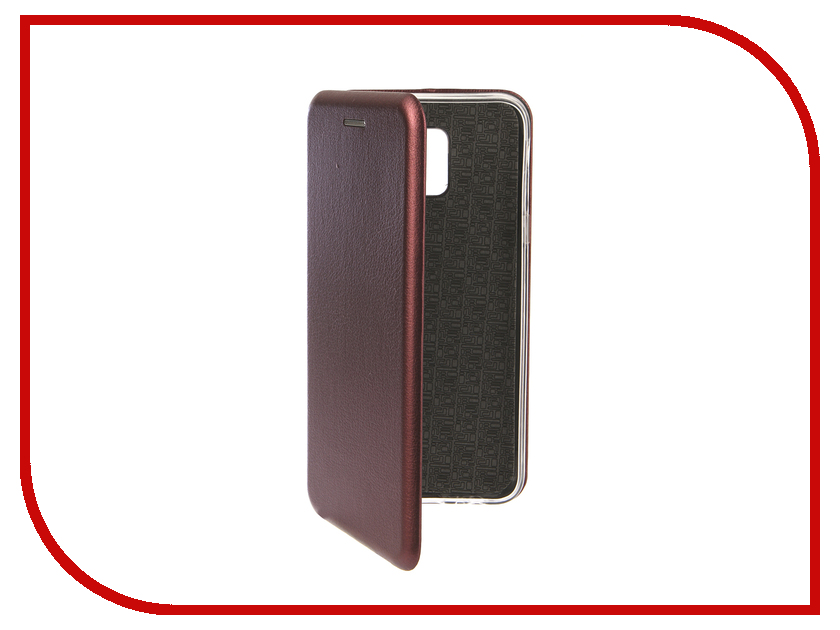 Аксессуар Чехол для Samsung Galaxy J6 2018 Innovation Book Silicone Magnetic Red 13339 аксессуар чехол для samsung galaxy j2 2018 innovation book silicone red 12175