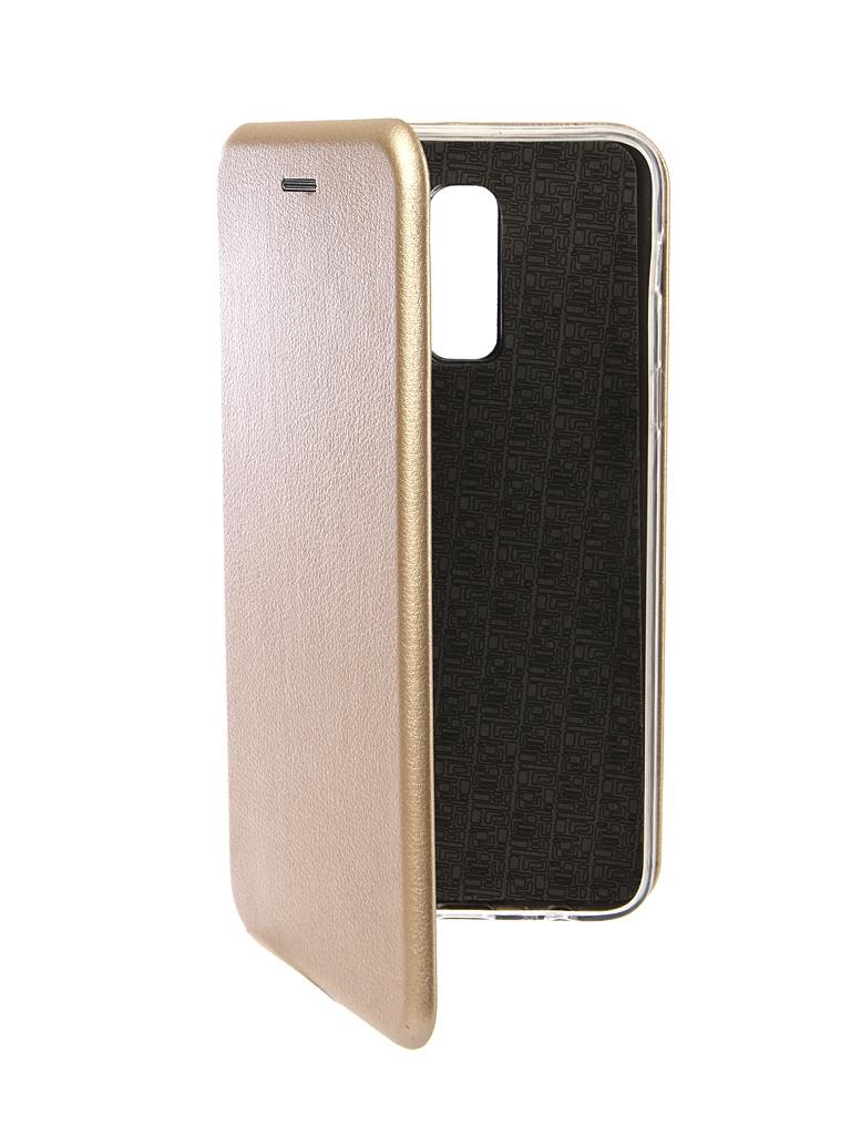 Аксессуар Чехол Innovation для Samsung Galaxy J8 2018 Book Silicone Magnetic Gold 13340 аксессуар чехол для samsung galaxy note 8 innovation book silicone magnetic gold 13432