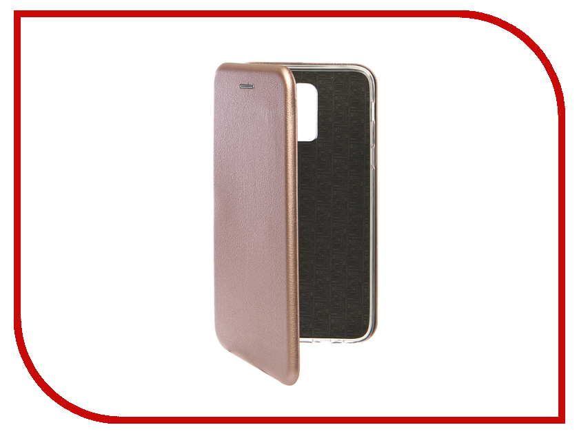 Аксессуар Чехол для Samsung Galaxy J8 2018 Innovation Book Silicone Magnetic Rose Gold 13341 аксессуар чехол книга для samsung galaxy a3 2016 innovation book silicone rose gold 11488