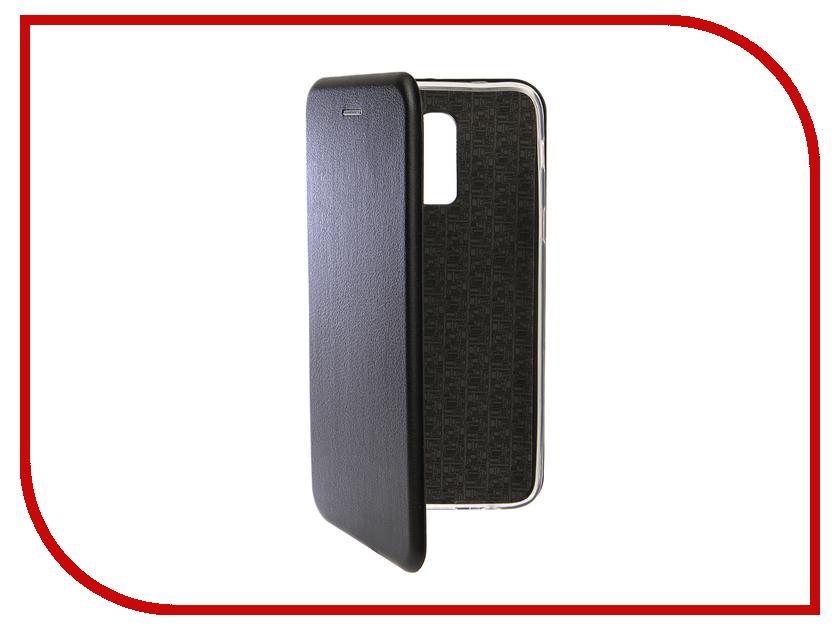 Аксессуар Чехол для Samsung Galaxy J8 2018 Innovation Book Silicone Magnetic Black 13342 аксессуар чехол для samsung galaxy a5 2017 innovation silicone black 12205