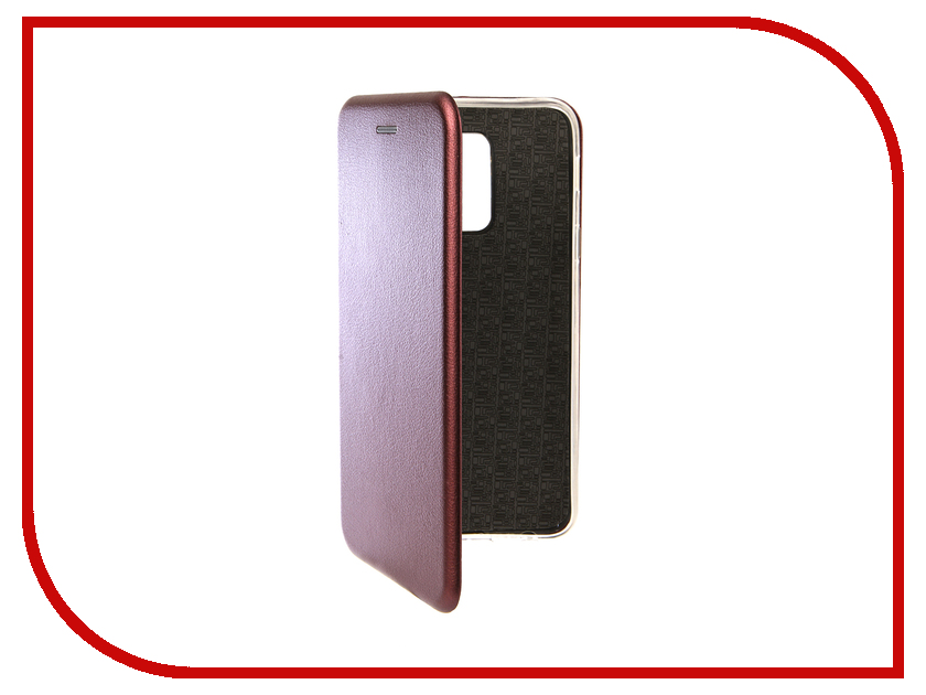 Аксессуар Чехол для Samsung Galaxy J8 2018 Innovation Book Silicone Magnetic Red 13344 аксессуар чехол для samsung galaxy j2 2018 innovation book silicone red 12175
