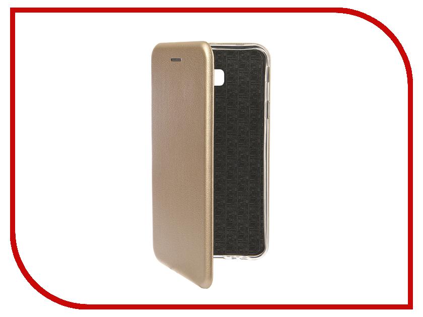Аксессуар Чехол для Samsung Galaxy J4 Plus 2018 Innovation Book Silicone Magnetic Gold 13345 аксессуар чехол книга для samsung galaxy a6 plus 2018 innovation book silicone gold 12450
