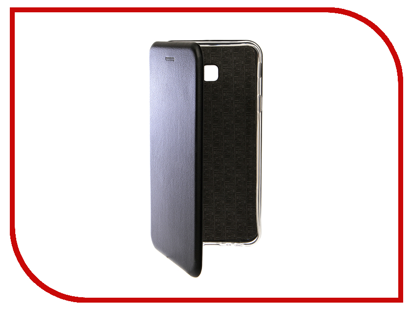 Купить Аксессуар Чехол для Samsung Galaxy J4 Plus 2018 Innovation Book Silicone Magnetic Black 13348