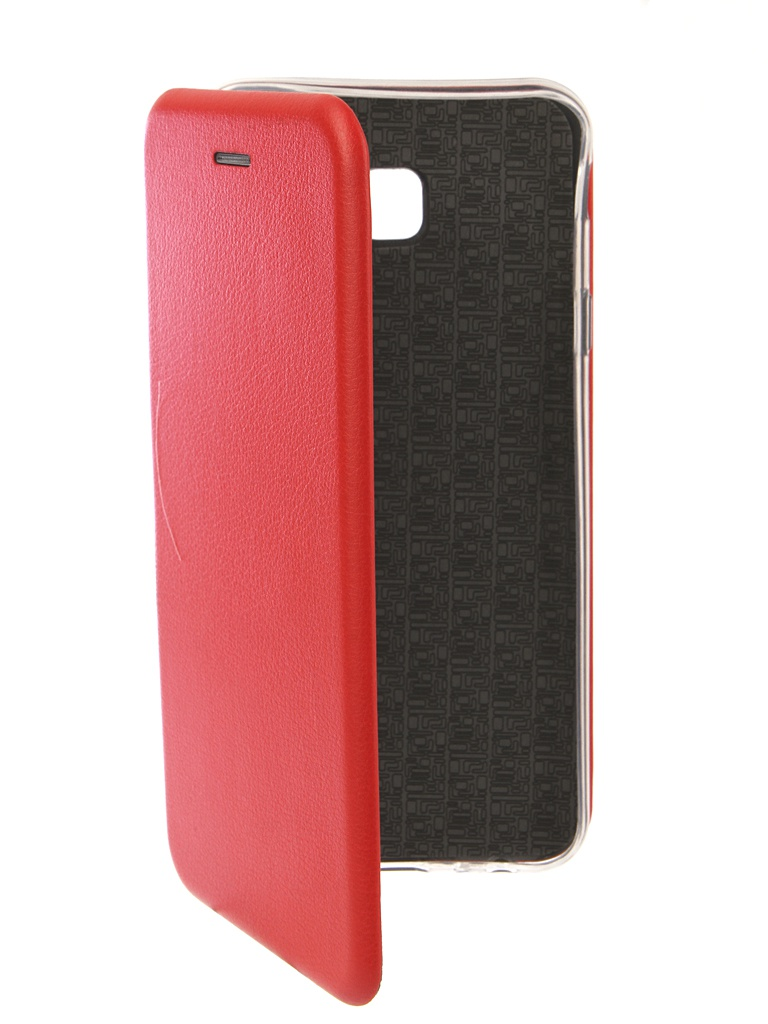 Аксессуар Чехол Innovation для Samsung Galaxy J4 Plus 2018 Book Silicone Magnetic Red 13349 аксессуар чехол книга для samsung galaxy j4 2018 innovation book silicone black 12458