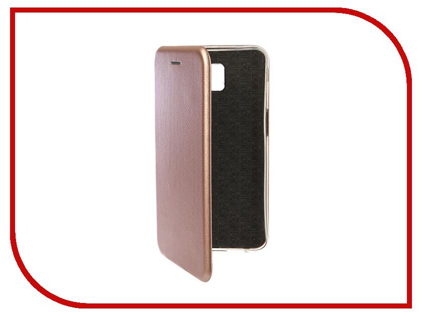 Аксессуар Чехол для Samsung Galaxy J6 Plus 2018 Innovation Book Silicone Magnetic Rose Gold 13350 аксессуар чехол книга для samsung galaxy a3 2016 innovation book silicone rose gold 11488