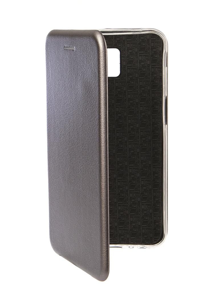 Аксессуар Чехол Innovation для Samsung Galaxy J6 Plus 2018 Book Silicone Magnetic Silver 13353 аксессуар чехол книга для samsung galaxy s7 innovation book silver 10529