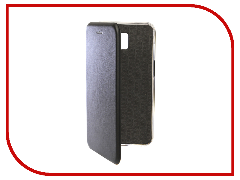 Купить Аксессуар Чехол для Samsung Galaxy J6 Plus 2018 Innovation Book Silicone Magnetic Black 13354