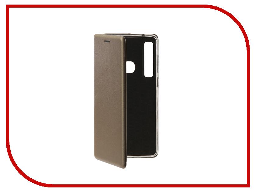 Фото - Аксессуар Чехол для Samsung Galaxy A9 2018 Innovation Book Silicone Magnetic Gold 13355 аксессуар чехол для samsung galaxy j7 2017 gecko book gold g book samj7 2017 gold