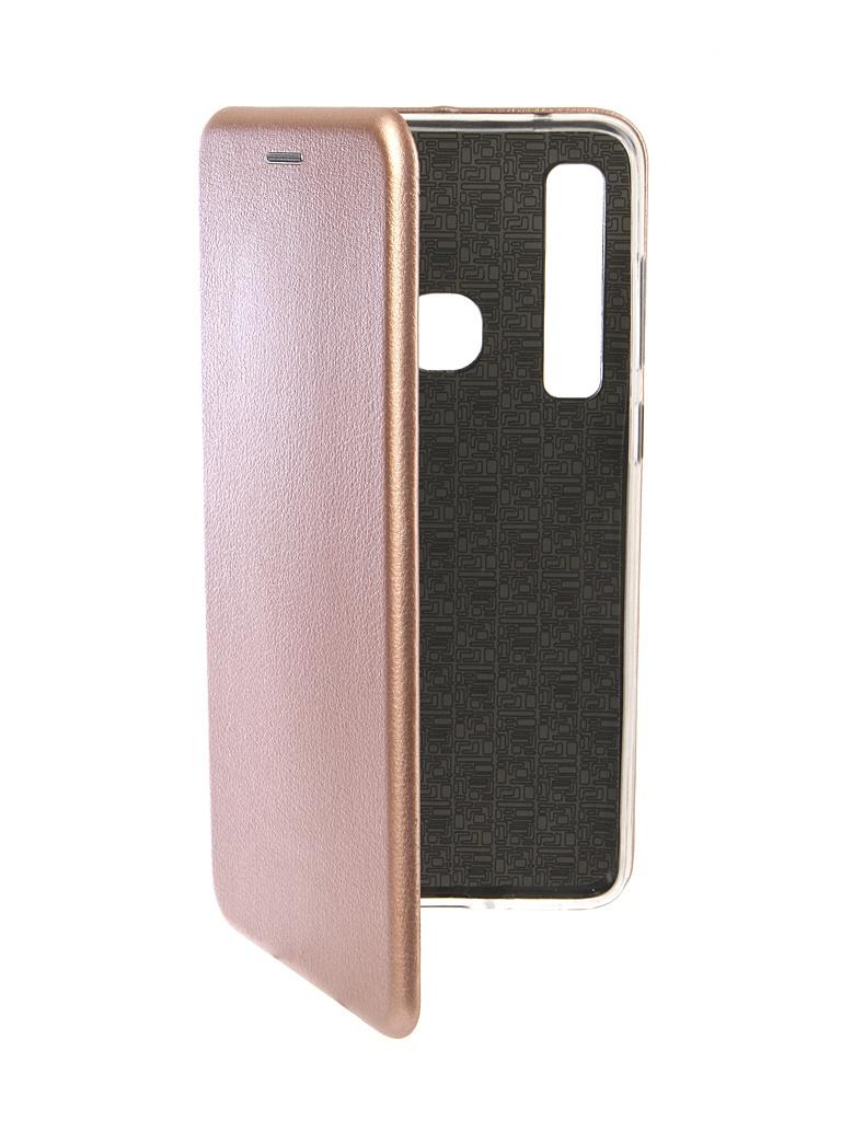 Аксессуар Чехол Innovation для Samsung Galaxy A9 2018 Book Silicone Magnetic Rose Gold 13356 аксессуар чехол для samsung galaxy note 8 innovation book silicone magnetic gold 13432