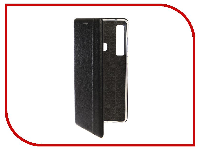Аксессуар Чехол для Samsung Galaxy A9 2018 Innovation Book Silicone Magnetic Black 13358 аксессуар чехол для samsung galaxy j7 2017 j730f innovation silicone black 10682