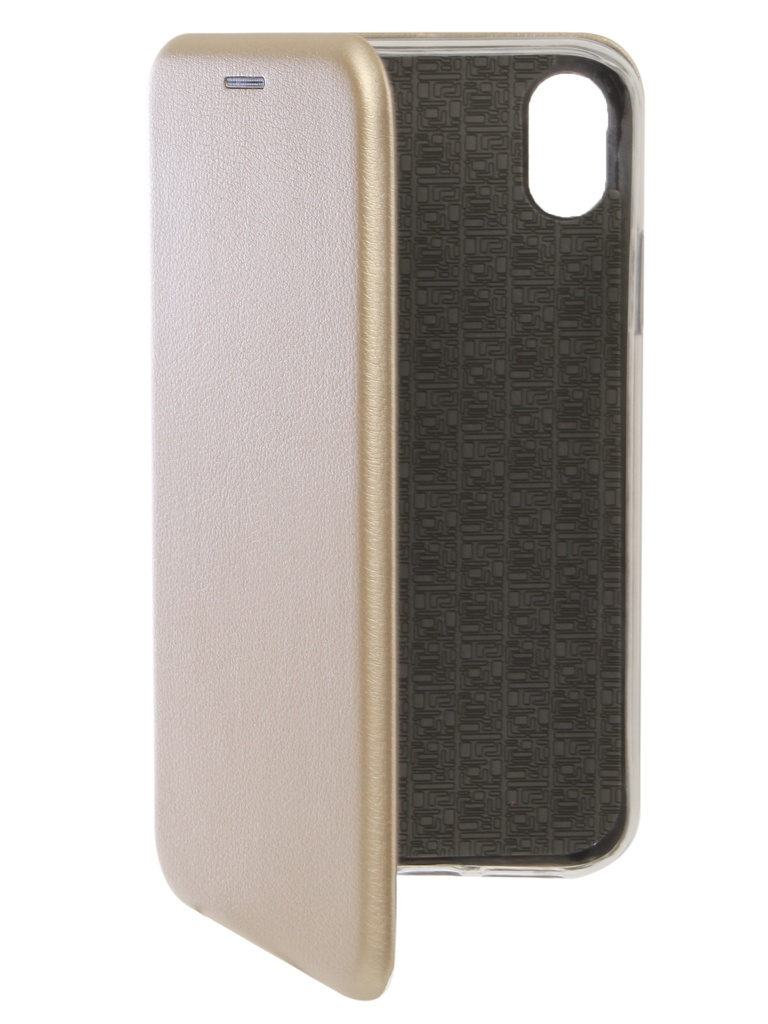 Аксессуар Чехол Innovation для APPLE iPhone XR Book Silicone Magnetic Gold 13360 аксессуар чехол для apple iphone xs max innovation book silicone magnetic gold 13365
