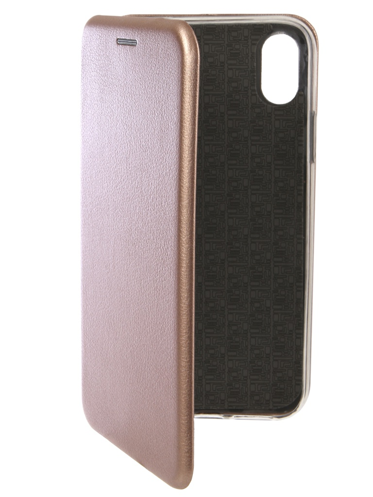 Аксессуар Чехол Innovation для APPLE iPhone XR Book Silicone Magnetic Rose Gold 13361 kit thule 1272