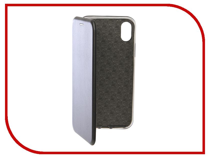 Аксессуар Чехол для APPLE iPhone XR Innovation Book Silicone Magnetic Black 13363 аксессуар чехол для apple iphone x innovation silicone black 12214