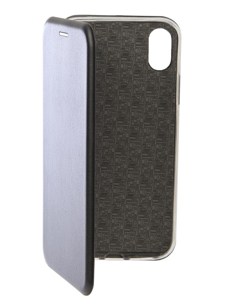 Чехол Innovation для APPLE iPhone XR Book Silicone Magnetic Black 13363
