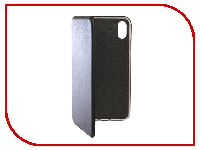 Аксессуар Чехол для APPLE iPhone XS Max Innovation Book Silicone Magnetic Black 13368 аксессуар чехол для apple iphone x innovation silicone black 12214