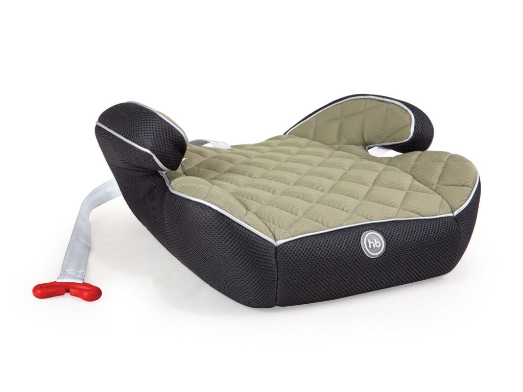 Автокресло группа 2/3 (15-36 кг) Happy Baby Booster Rider Green все цены