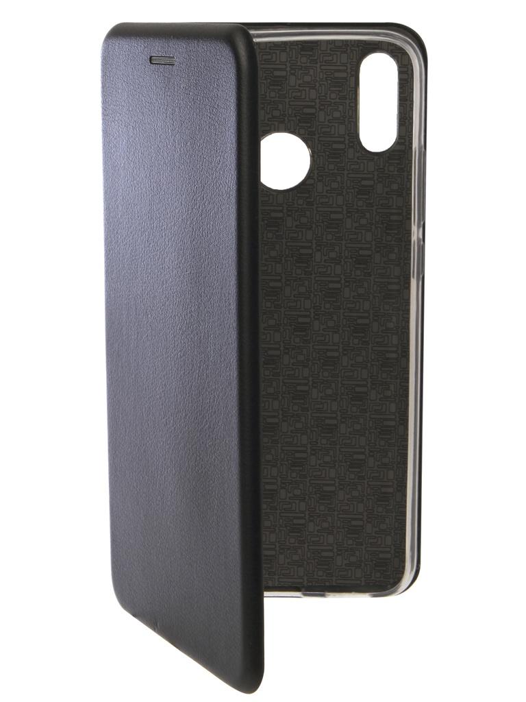 Чехол Innovation для Honor 8X Book Silicone Magnetic Black 13373