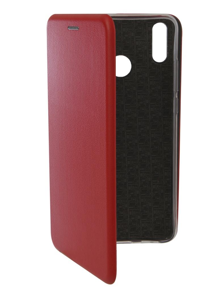 Аксессуар Чехол Innovation для Honor 8X Book Silicone Magnetic Red 13374