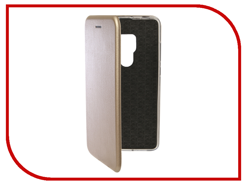 Аксессуар Чехол для Huawei Mate 20 Innovation Book Silicone Magnetic Gold 13376 аксессуар чехол для huawei p smart innovation book silicone magnetic red 13401