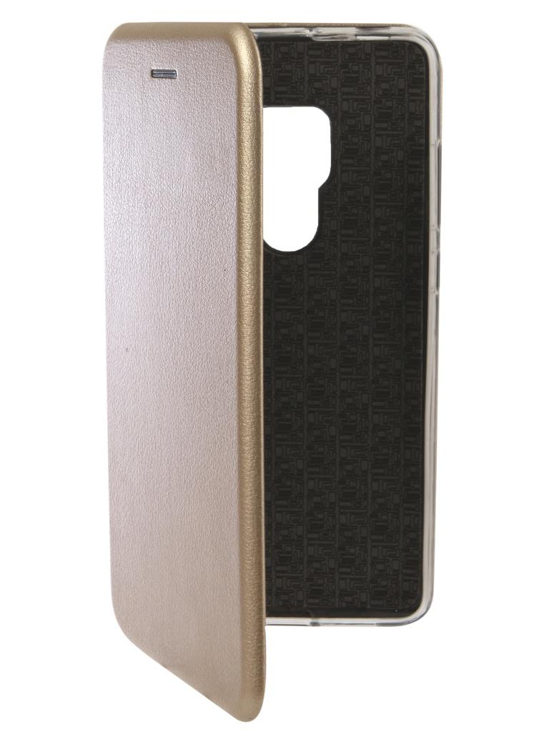 Аксессуар Чехол Innovation для Huawei Mate 20 Book Silicone Magnetic Gold 13376 аксессуар чехол для huawei mate 20 pro innovation book silicone magnetic black 13385