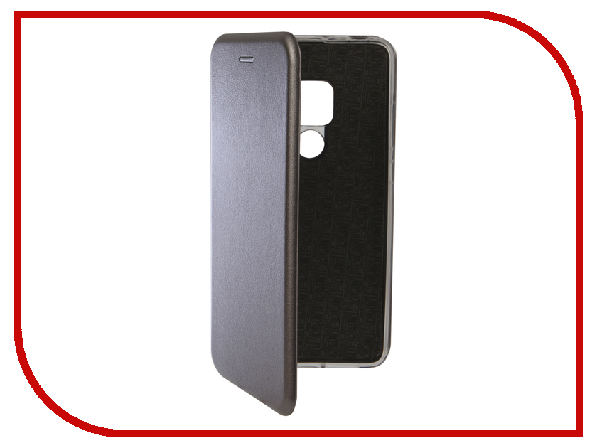 Аксессуар Чехол для Huawei Mate 20 Innovation Book Silicone Magnetic Silver 13378 аксессуар чехол книга для huawei 7c pro innovation book silicone silver 12409