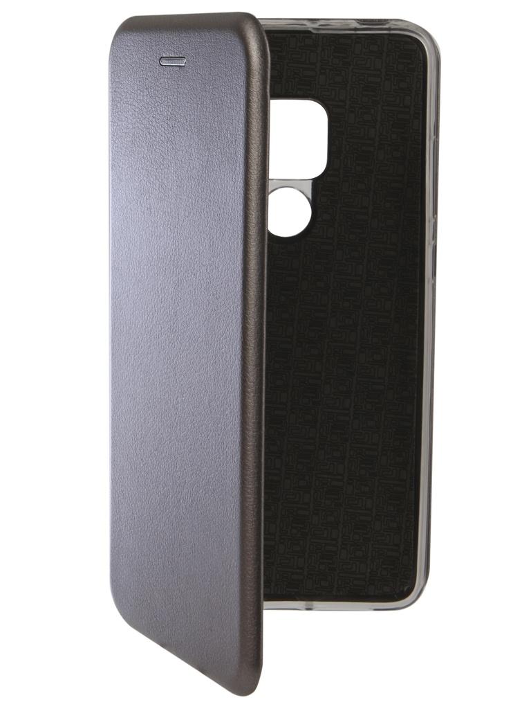 Аксессуар Чехол Innovation для Huawei Mate 20 Book Silicone Magnetic Silver 13378 аксессуар чехол для huawei mate 20 pro innovation book silicone magnetic black 13385