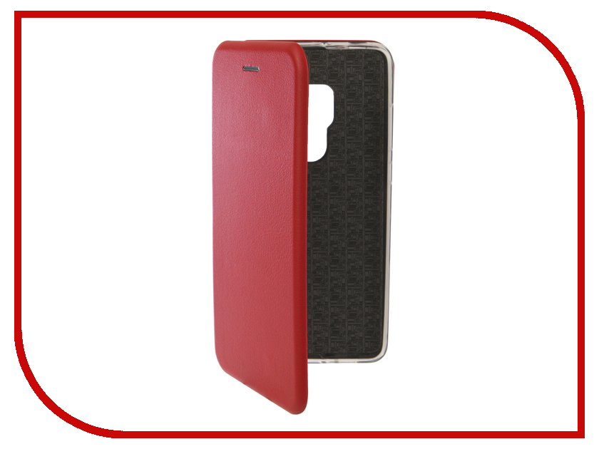 Аксессуар Чехол для Huawei Mate 20 Innovation Book Silicone Magnetic Red 13379 аксессуар чехол для huawei mate 20 innovation silicone pink 13519