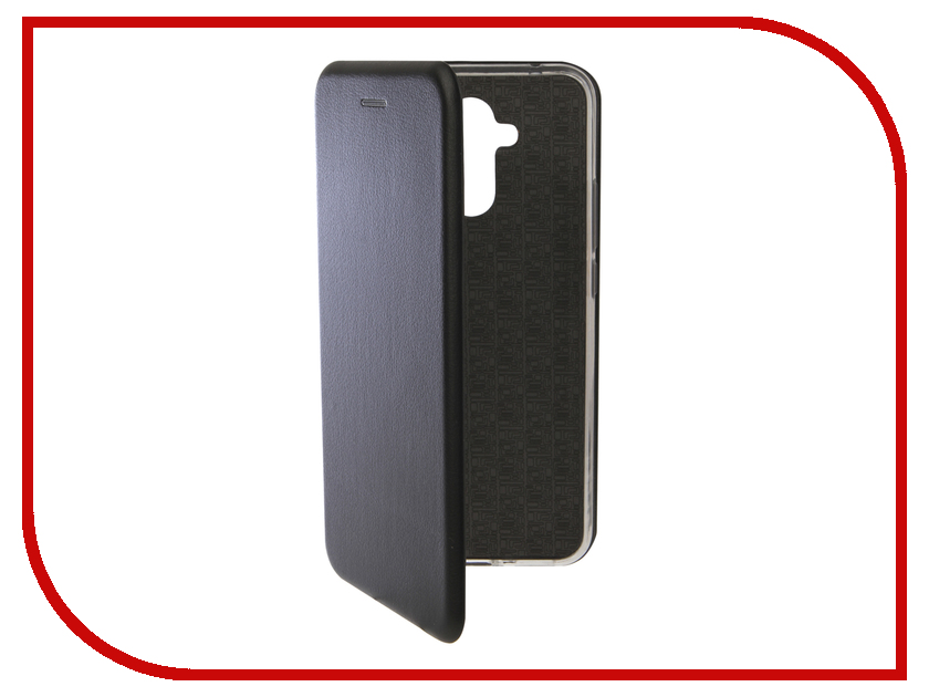 Аксессуар Чехол для Huawei Mate 20 Lite Innovation Book Silicone Magnetic Black 13380 аксессуар чехол книга для huawei p9 lite innovation book silicone gold 11510