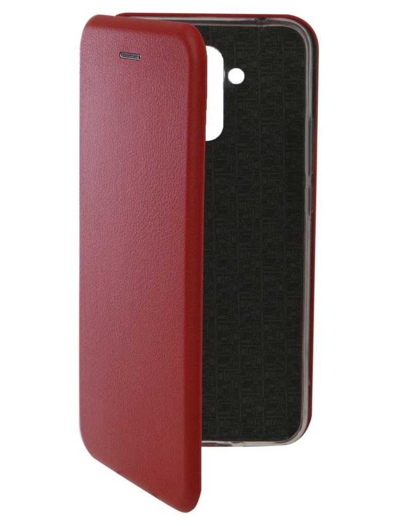 Аксессуар Чехол Innovation для Huawei Mate 20 Lite Book Silicone Magnetic Red 13381 цена