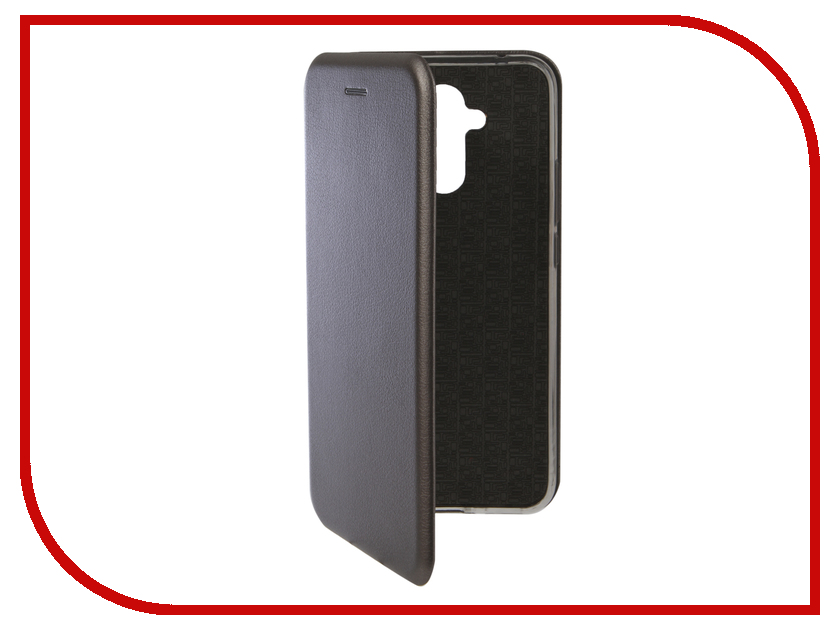 Аксессуар Чехол для Huawei Mate 20 Lite Innovation Book Silicone Magnetic Silver 13382 цена