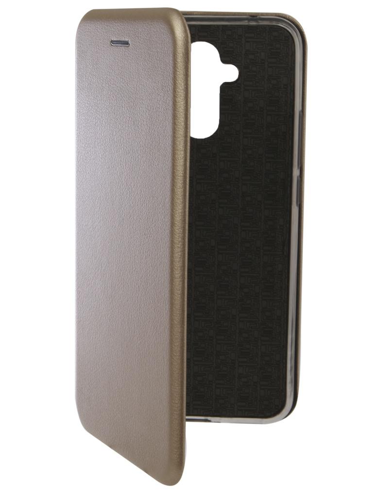 Аксессуар Чехол Innovation для Huawei Mate 20 Lite Book Silicone Magnetic Gold 13383 аксессуар чехол для huawei mate 20 pro innovation book silicone magnetic black 13385
