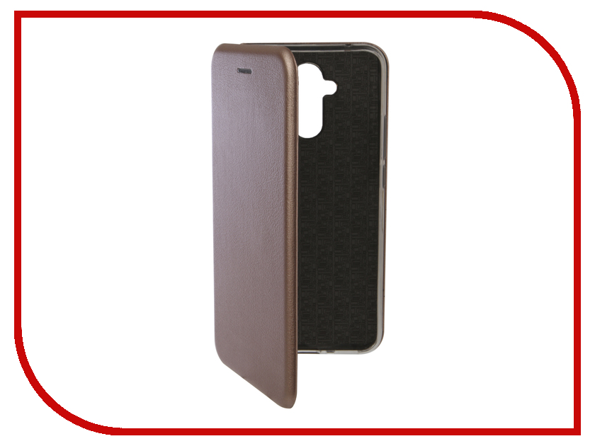 Аксессуар Чехол для Huawei Mate 20 Lite Innovation Book Silicone Magnetic Rose Gold 13384 аксессуар чехол для xiaomi pocophone f1 innovation book silicone magnetic rose gold 13449