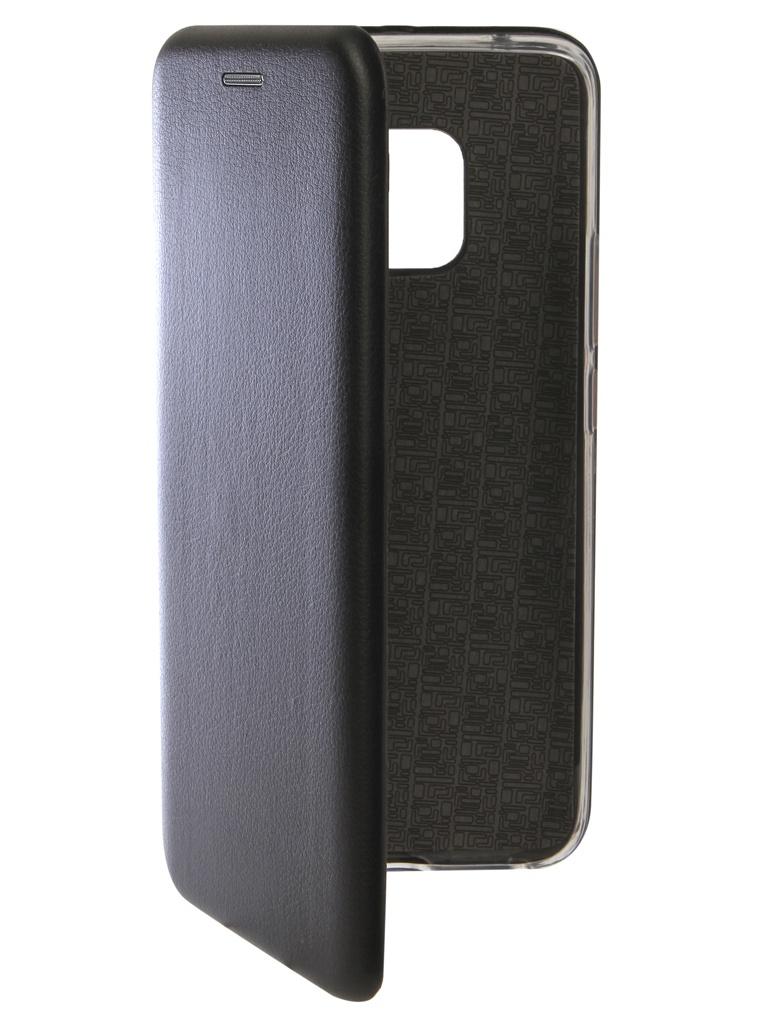 Аксессуар Чехол Innovation для Huawei Mate 20 Pro Book Silicone Magnetic Black 13385 аксессуар чехол для huawei mate 20 pro innovation book silicone magnetic black 13385
