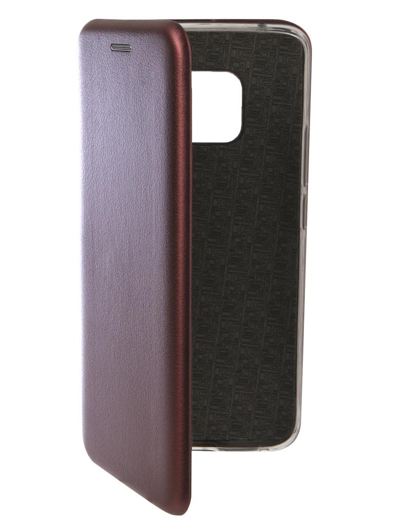 Аксессуар Чехол Innovation для Huawei Mate 20 Pro Book Silicone Magnetic Red 13386 аксессуар чехол для huawei mate 20 pro innovation book silicone magnetic black 13385