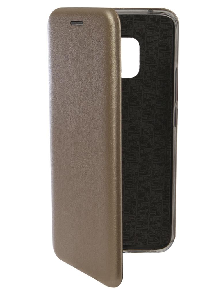 Аксессуар Чехол Innovation для Huawei Mate 20 Pro Book Silicone Magnetic Gold 13387 аксессуар чехол для huawei mate 20 pro innovation book silicone magnetic black 13385