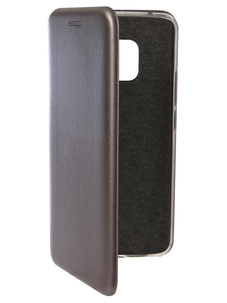 Аксессуар Чехол Innovation для Huawei Mate 20 Pro Book Silicone Magnetic Silver 13388 аксессуар чехол для huawei mate 20 pro innovation book silicone magnetic black 13385