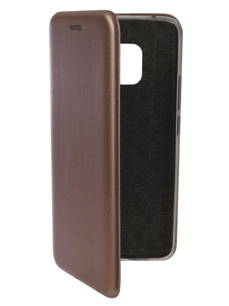 Аксессуар Чехол Innovation для Huawei Mate 20 Pro Book Silicone Magnetic Rose Gold 13389 аксессуар чехол для huawei mate 20 pro innovation book silicone magnetic black 13385