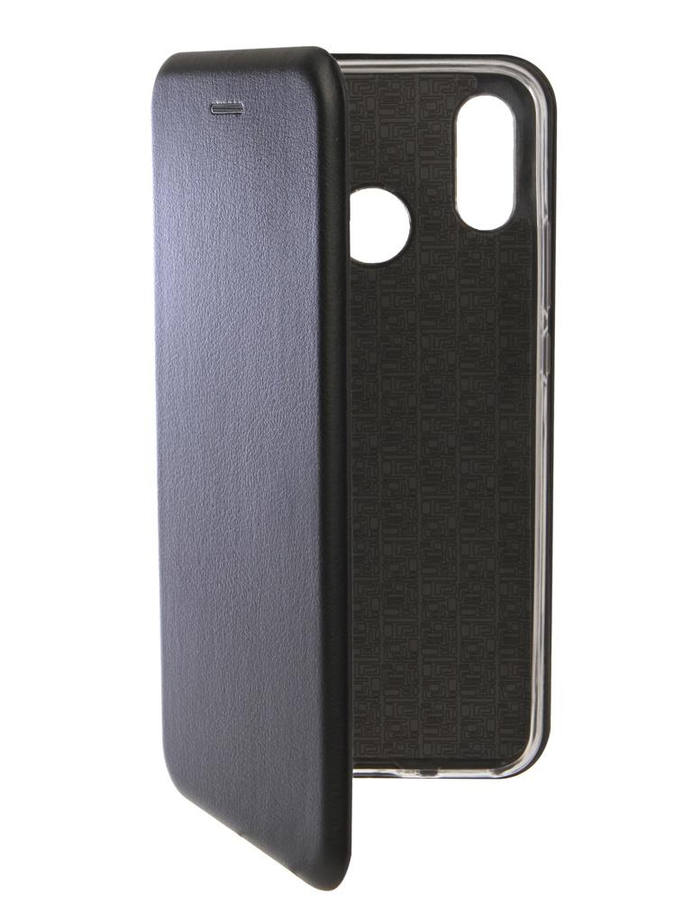 Аксессуар Чехол Innovation для Huawei Nova 3 Book Silicone Magnetic Black 13390 корм для декоративных кроликов чика витаминизированный 400 г
