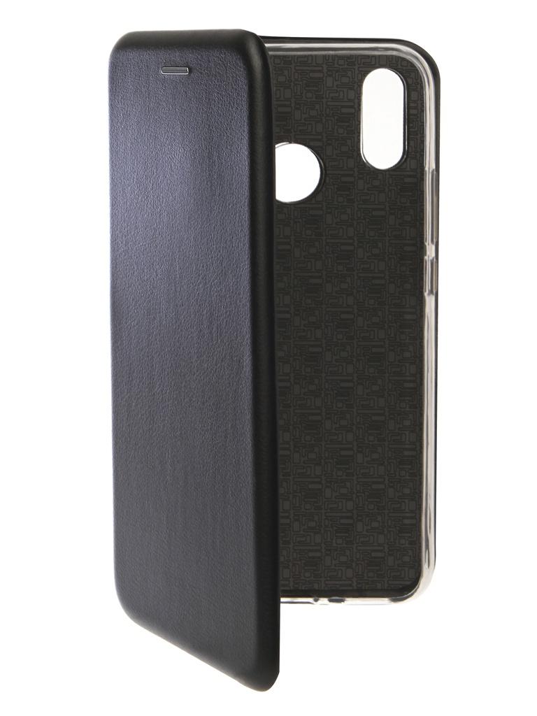 Чехол Innovation для Huawei Nova 3i Book Silicone Magnetic Black 13395