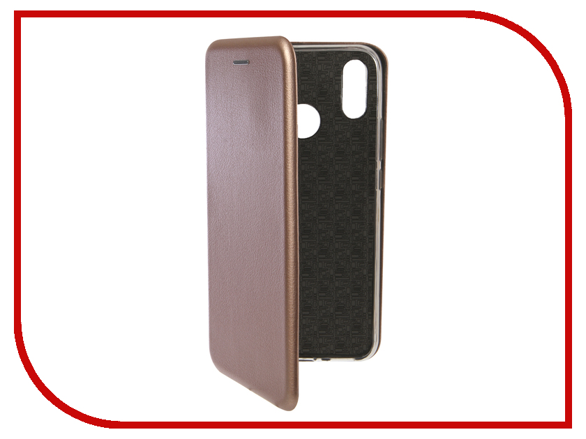 Аксессуар Чехол для Huawei Nova 3i Innovation Book Silicone Magnetic Rose Gold 13399 аксессуар чехол для huawei p smart 7s innovation silicone pink 12840