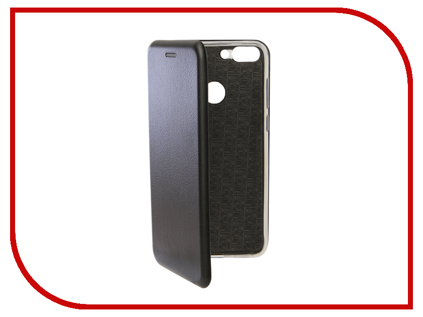 Аксессуар Чехол для Huawei P Smart Innovation Book Silicone Magnetic Black 13400 аксессуар чехол для huawei 7s p smart innovation silicone purple 13559