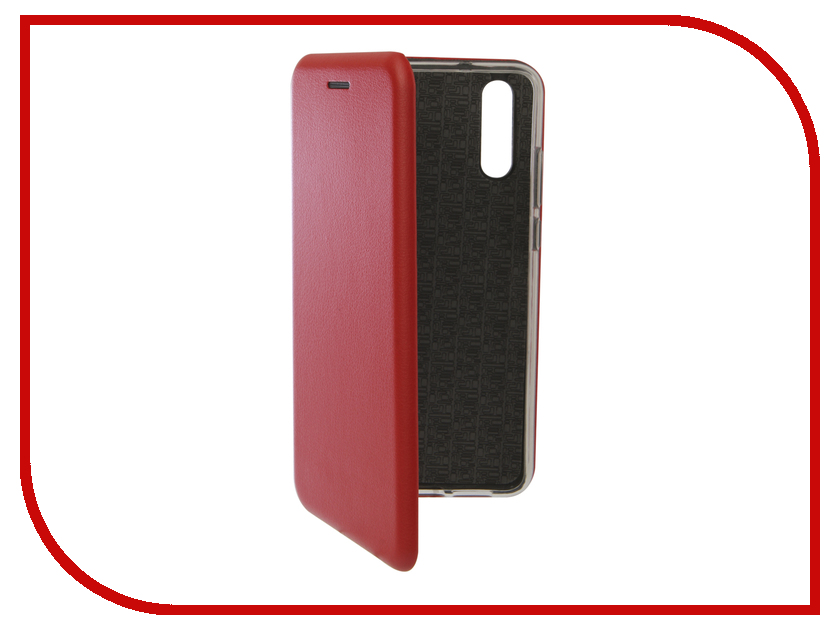 Аксессуар Чехол для Huawei P20 Innovation Book Silicone Magnetic Red 13406 аксессуар чехол для huawei p smart 7s innovation silicone pink 12840