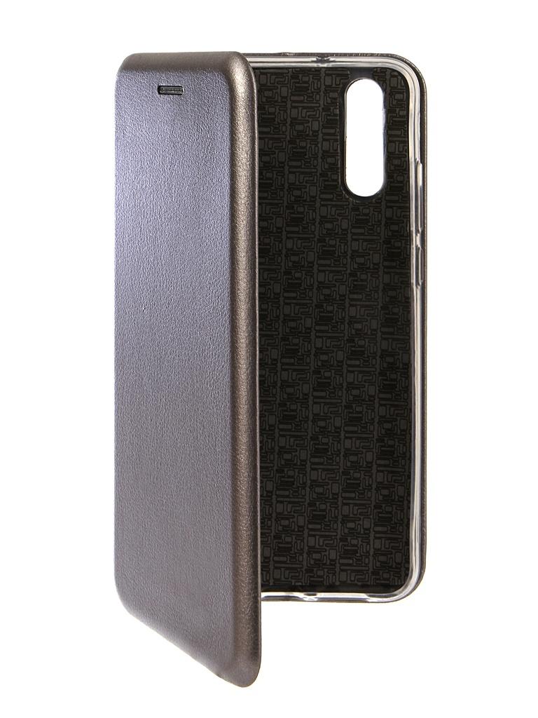 Фото - Аксессуар Чехол Innovation для Huawei P20 Book Silicone Magnetic Silver 13407 аксессуар