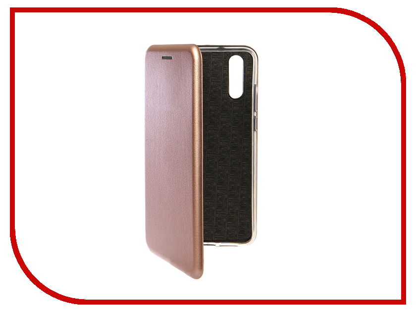 Аксессуар Чехол для Huawei P20 Innovation Book Silicone Magnetic Rose Gold 13409 аксессуар чехол для xiaomi pocophone f1 innovation book silicone magnetic rose gold 13449