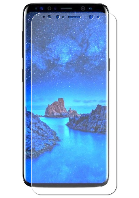 Аксессуар Защитное стекло для Samsung Galaxy S9 Plus Vitherum Aqua 3D Transparent VTHAQU0002