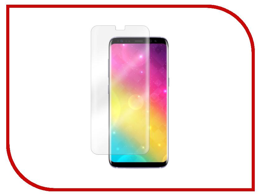 Аксессуар Защитное стекло для Samsung Galaxy S8 Vitherum Aqua 3D Transparent VTHAQU0003 аксессуар чехол для samsung galaxy s8 ubik 0 5mm transparent 000671