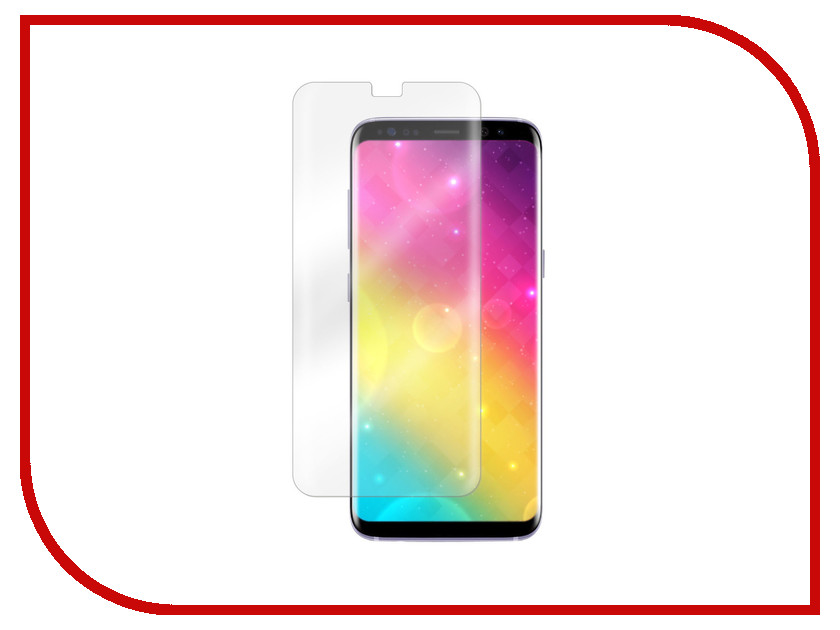 Аксессуар Защитное стекло для Samsung Galaxy S8 Plus Vitherum Aqua 3D Transparent VTHAQU0004
